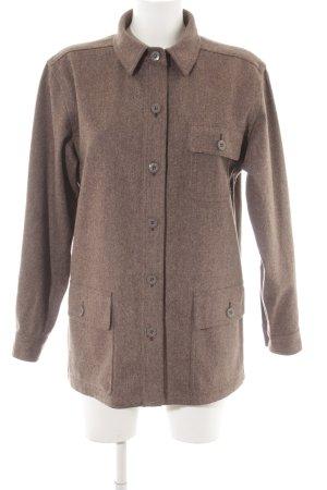 Escada Wool Jacket grey brown flecked casual look