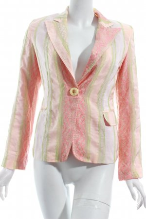 Escandelle Blazer florales Muster Street-Fashion-Look