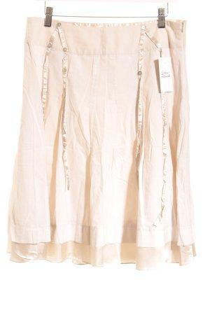 Escandelle Plooirok licht beige elegant