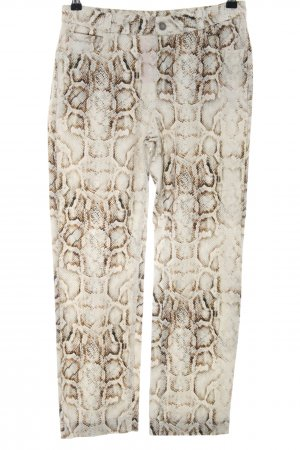 Ese O Ese High Waist Trousers animal pattern animal print
