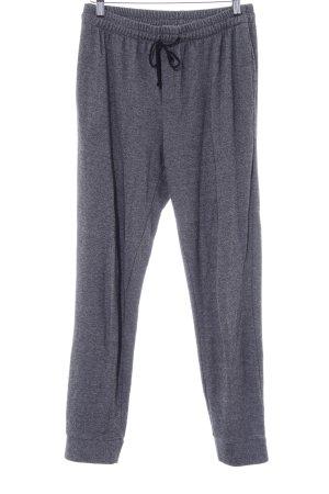 Ese O Ese Pantalón deportivo gris oscuro moteado estilo deportivo