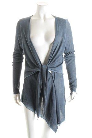 ESISTO Cardigan hellblau-blau Farbverlauf Street-Fashion-Look