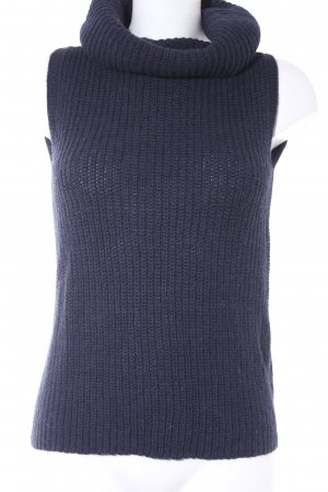 ESISTO Short Sleeve Sweater dark blue casual look