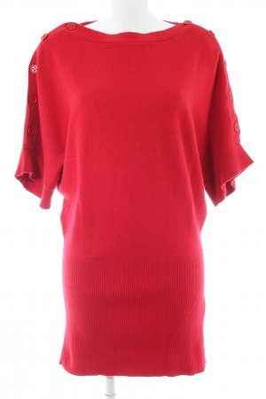 ESISTO Knitted Dress red casual look