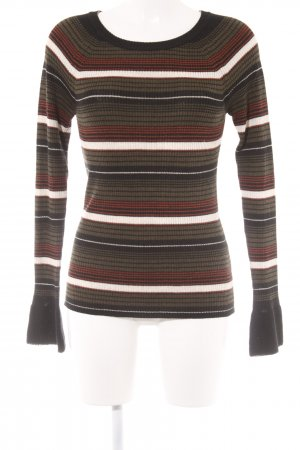 ESISTO Knitted Sweater striped pattern casual look