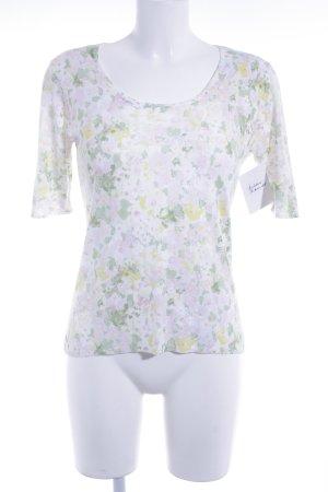 ESISTO T-Shirt Blumenmuster Casual-Look