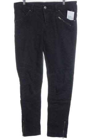 Esmara 7/8 Jeans schwarz klassischer Stil