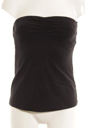 Esmara Top a fascia nero stile semplice