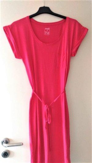 Esmara Vestido estilo camisa magenta Algodón