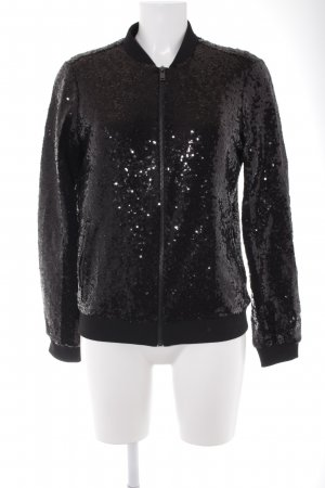 Esmara by Heidi Klum Sweatjacke schwarz Party-Look