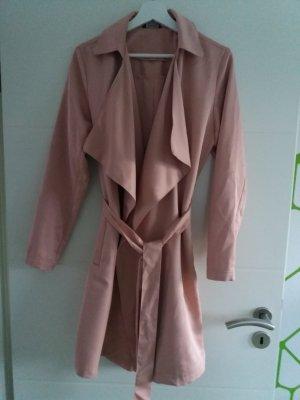 Esmara Cardigan Trenchcoat Damen rosa rosé nude Gr. 42