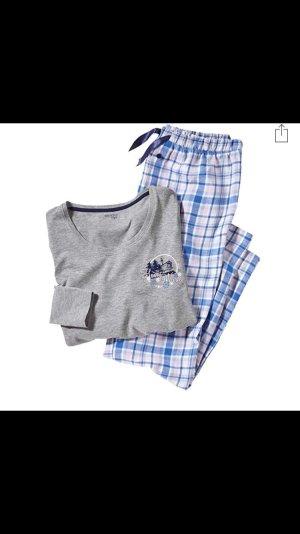 ESMARA Damen Schlafanzug 2-teilig