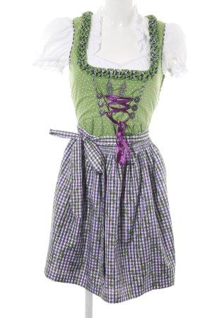 Esmara Dirndl vert motif de fleur style extravagant