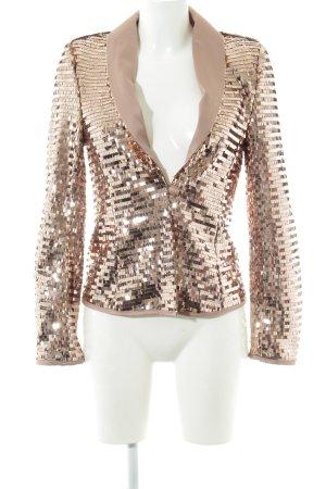 Esmara Kurz-Blazer roségoldfarben extravaganter Stil
