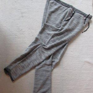 Esmara * Kuschelige Lounge Pants Sweathose * hellgrau-schwarz-weiß meliert * L=44/46 NEU