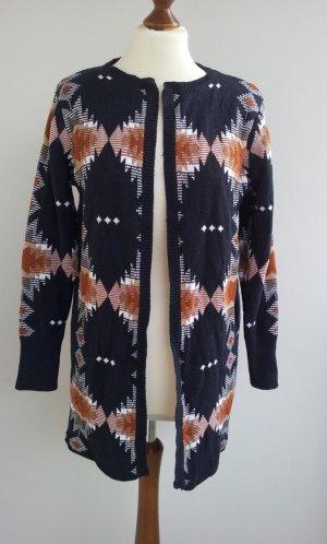 Esmara Knitted Coat multicolored mixture fibre