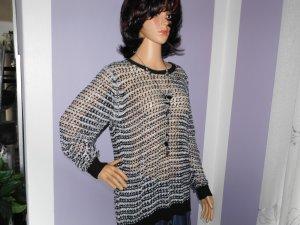 Esmara Coarse Knitted Sweater black-white