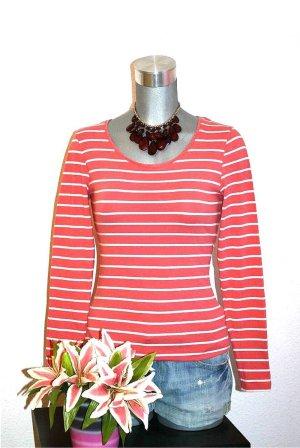 Esmara Pullover gr. 36/38 Shirt Rot gestreift
