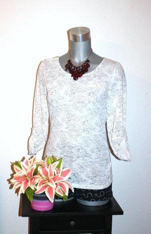 Esmara Rosen Flower Pullover gr. 38/40 Blogger Style