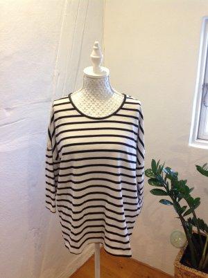 Esmara T-shirt rayé noir-blanc