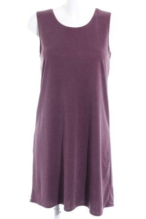 Esmara schulterfreies Kleid purpur-graulila Casual-Look