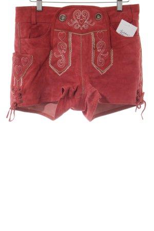 Esmara Trachtenhose rot-weiß Country-Look