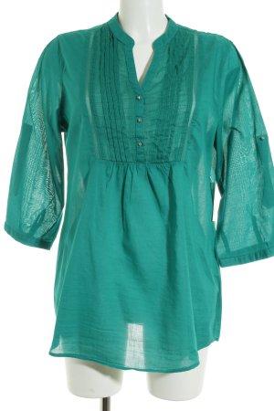 Esmara Tunikabluse waldgrün schlichter Stil