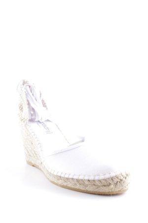 Espadrij Espadrille sandalen wit-room Beach-look