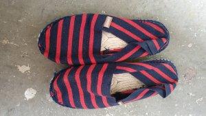Espadrij Espadrillas rosso-blu scuro