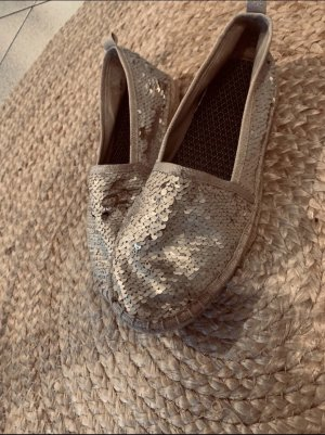 Espadrille Sandals gold-colored-oatmeal