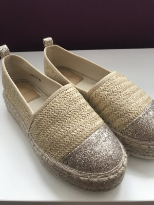 Slip-on Sneakers oatmeal-gold-colored