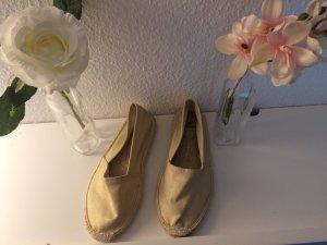 Pieces Espadrille Sandals gold-colored-cream