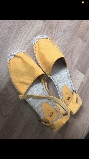 H&M Espadrille beige-jaune