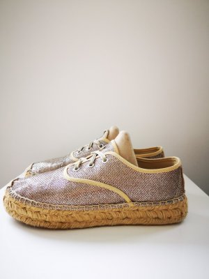 Replay Espadrille Sandals gold-colored