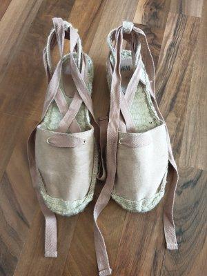 H&M Espadrille Sandals dusky pink