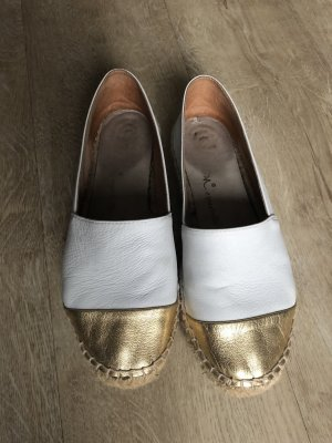 Espadrille Sandals white-gold-colored