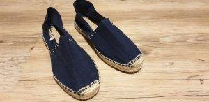 Espadrille Sandals dark blue