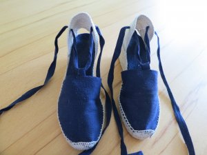 Espadrilles Gr. 38 blau neuwertig zu verkaufen