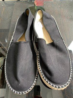 Espadrille Sandals black-nude