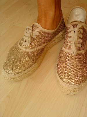 Tamaris Low Shoes gold-colored-sand brown