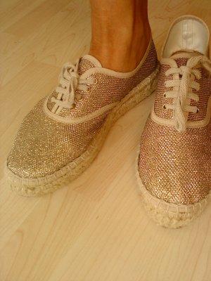 Espadrilles - Loafer von TAMARIS gold Größe 40