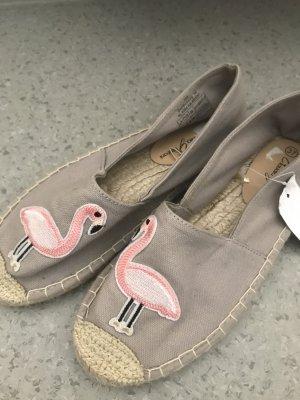 Espadrilles mit Flamingos