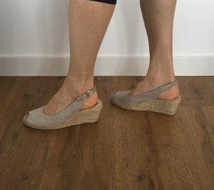 Macarena Espadrille Sandals oatmeal-light grey