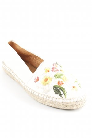 Espadrille Sandals flower pattern casual look