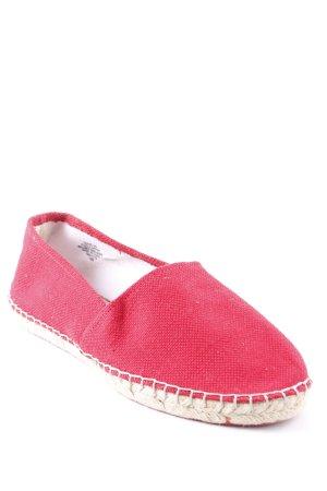 Espadrille sandalen rood casual uitstraling