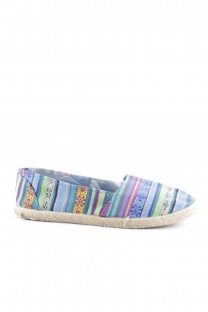 Espadrille Sandals striped pattern casual look