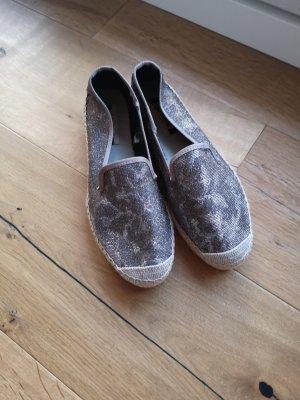 Vidorreta Alpargatas gris claro-marrón grisáceo