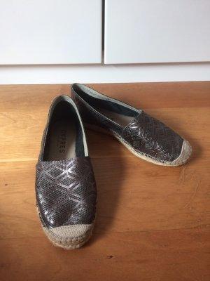 Cypres Espadrille Sandals grey-dark grey
