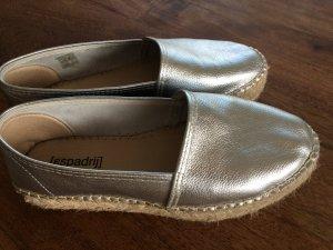 Espadrij Zapatillas para casa color plata