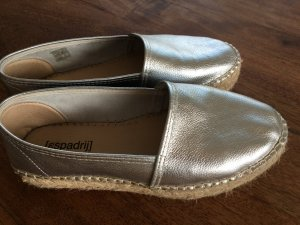Espadrij House Shoes silver-colored